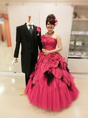 ブログ用/ピンクドレスと.jpg